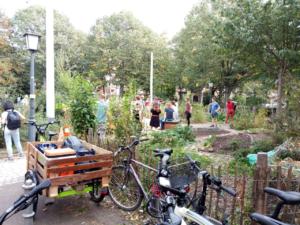 Garten Fahrradtour