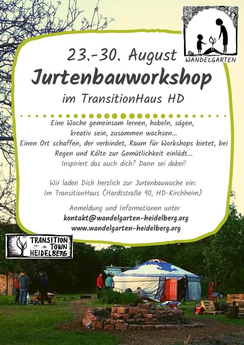 Jurtenbauworkshop
